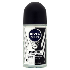 Nivea For Men Black & White Powder Roll On