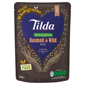 Tilda Steamed Brown Basmati and Wild Rice