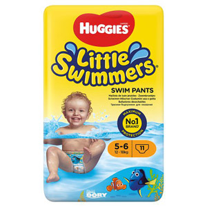 Huggies Unisex Little Swimmers Size 5-6