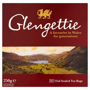 Glengettie 80 Foiled Sealed Tea Bags