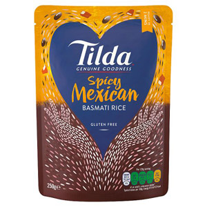 Tilda Steamed Mexican Chilli Basmati Rice