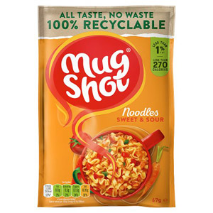 Mug Shot Noodle Snack Sweet & Sour