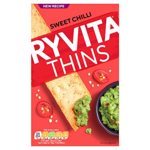 Ryvita Thins Sweet Chilli
