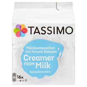 Tassimo Milk Pods 16 Servings