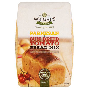 Wrights Parmesan & Sun Dried Tomato Bread Mix