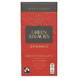 Green & Blacks Maya Gold Chocolate & Orange Spices