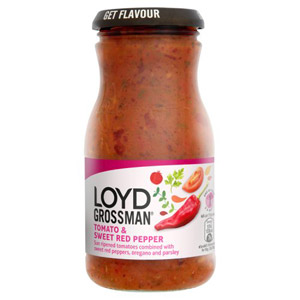 Loyd Grossman Tomato And Sweet Red Pepper Sauce