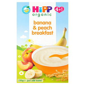 Hipp 4 Month Banana & Peach Breakfast Packet