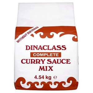 Dinaclass Curry Sauce No Fruit