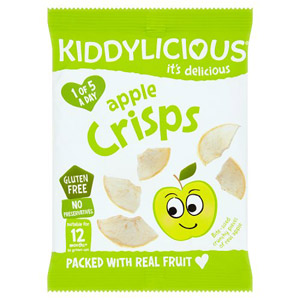 Kiddylicious 12 Month Apple Crisps