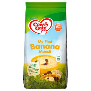 Cow & Gate 10 Month Banana Muesli