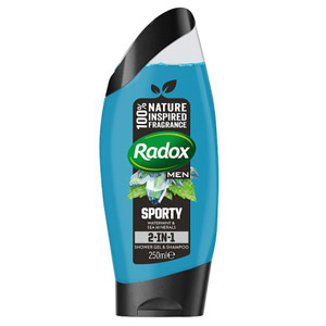Radox Mens Shower Watermint & Sea Minerals