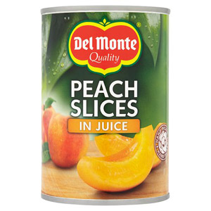 Del Monte Peach Slices In Juice