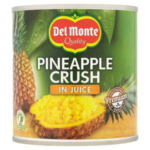 Del Monte Crushed Pineapple In Juice 432g
