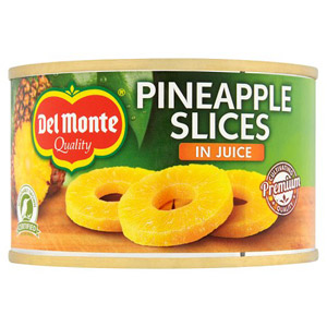 Del Monte Sliced Pineapple In Juice