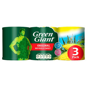 Green Giant Naturally Sweet Sweetcorn 3 Pack