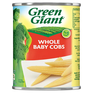 Green Giant Whole Baby Cobs