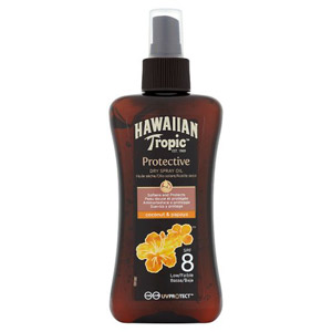 Hawaiian Tropic Dry Oil SPF8