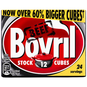 Bovril 12 Beef Stock Cubes