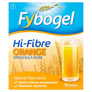Fybogel High Fibre Orange 10s