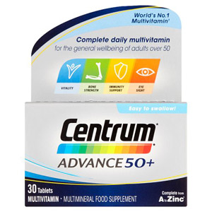 Centrum Advance 50 Plus 30s