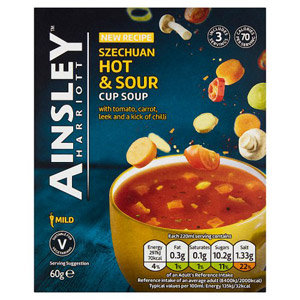 Ainsley Harriott Szechuan Hot & Sour Soup 3 Pack