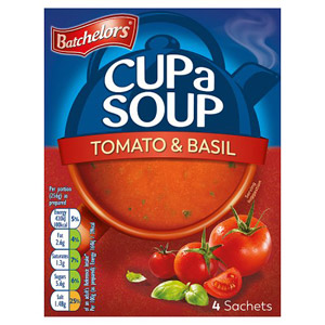 Batchelors Cup a Soup Tomato & Basil