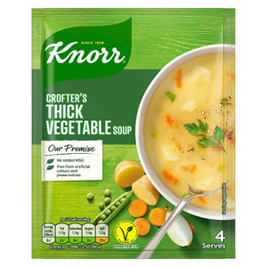 Knorr Packet Soup Crofters Thick Vegetable