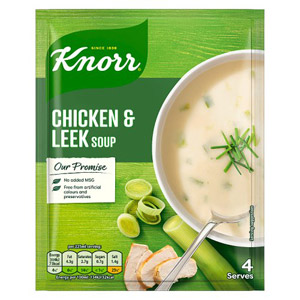 Knorr Packet Soup Farmhouse Leek/Chicken