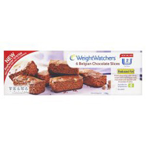 Weight Watchers Belgian Chocolate Slices 5 Pack 150g