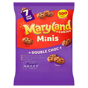 Maryland Mini Double Chocolate Cookies 6 Pack