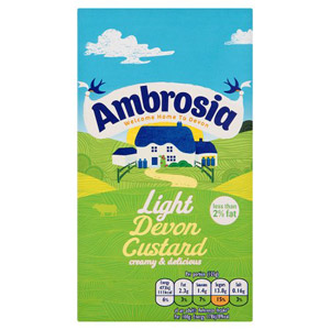 Ambrosia Ready To Serve Custard Low Fat Large