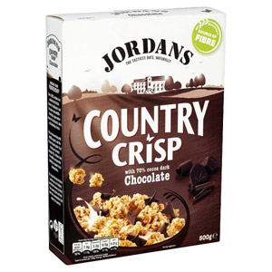 Jordans Country Crisp Chocolate