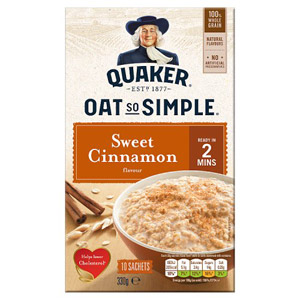 Quaker Oat So Simple Cinnamon