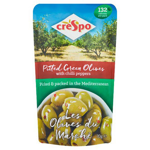 Crespo Olives With Chilli Pepper