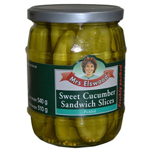 Mrs Elswood Sandwich Sliced Cucumbers