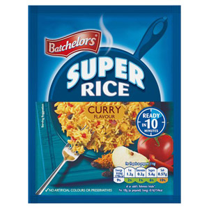 Batchelors Mild Curry Super Rice