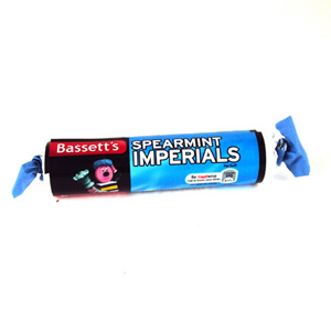 Bassetts Spearmint Imperials Roll 43g