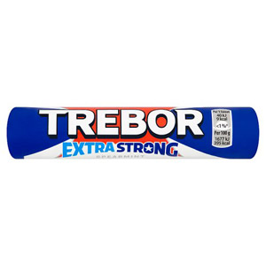 Trebor Extra Strong Spearmint Roll