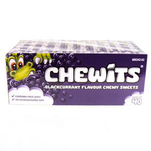 Chewits Blackcurrant x 40