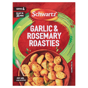 Schwartz Crispy Roast Potatoes Rosemary & Garlic