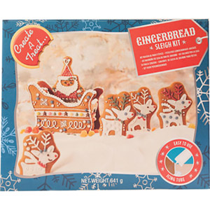 Create A Treat Gingerbread Sleigh & Reindeer Kit