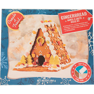 Create A Treat Premium Hansel & Gretel House Gingerbread Kit