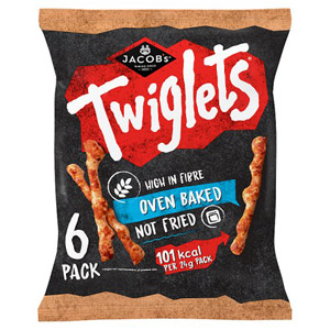 Jacobs Twiglets 6 Pack