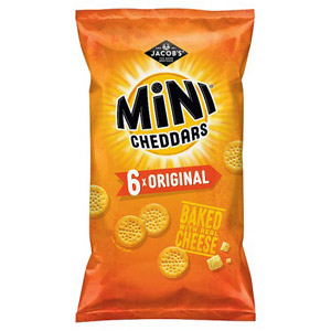 Jacobs Mini Cheddars 6 Pack
