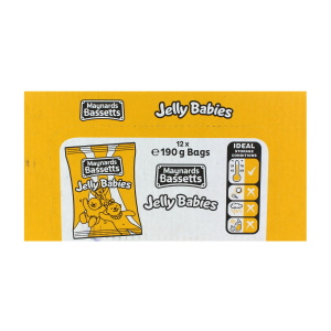 Bassetts Jelly Babies x 12 2280g