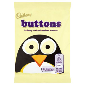Cadburys White Buttons