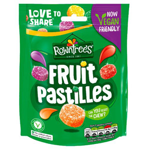 Rowntrees Fruit Pastilles 170g