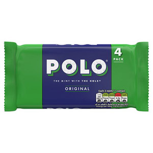 Polo Mints 4 Pack
