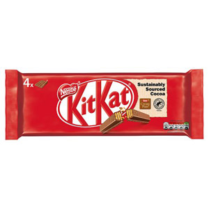 Nestle Kit Kat 4 Finger 4 Pack